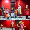 L'atelier théâtre clownesque.
