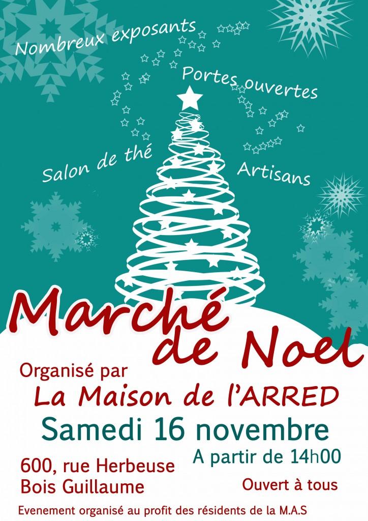 Affiche Marché de Noël du 16 11 13
