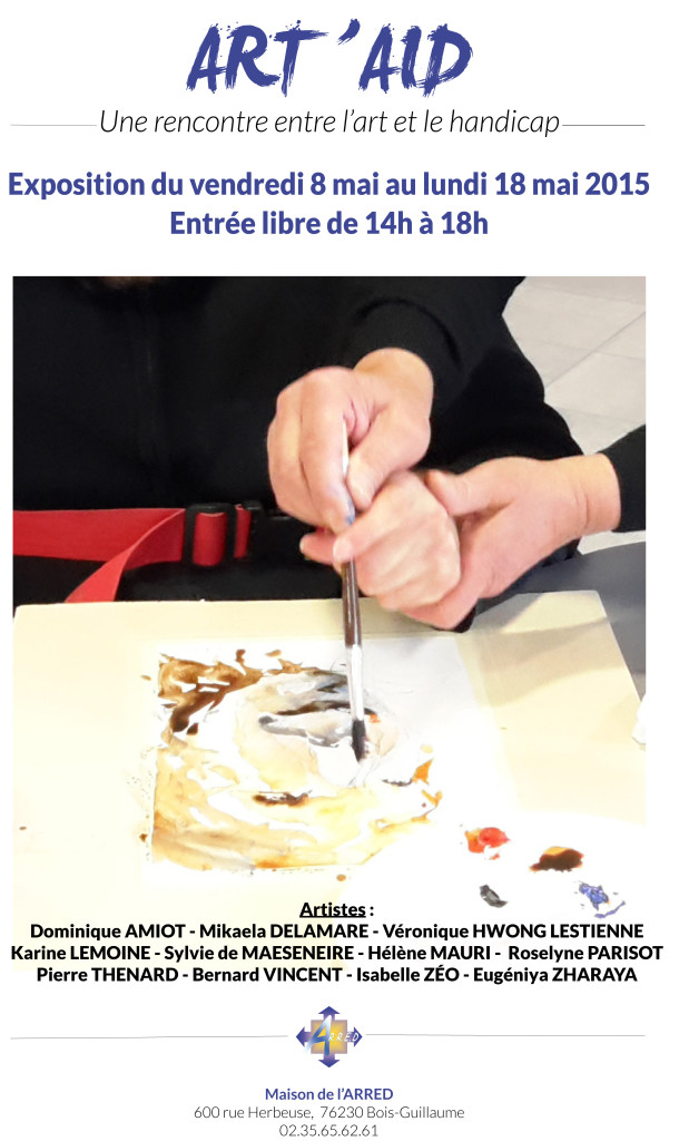 Affiche ART' AID 2015